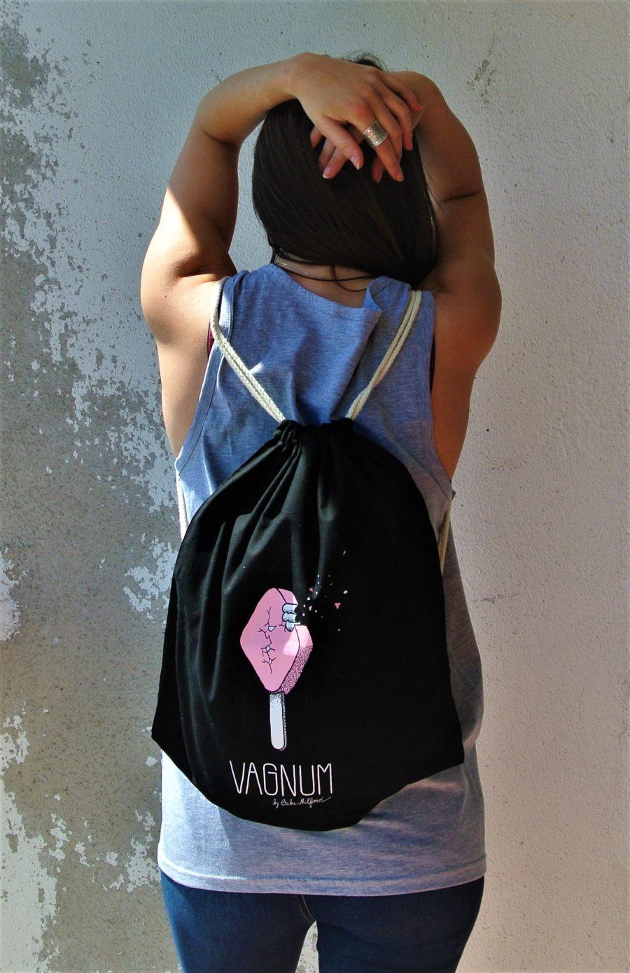 backpack pink vagnum by gabu milford