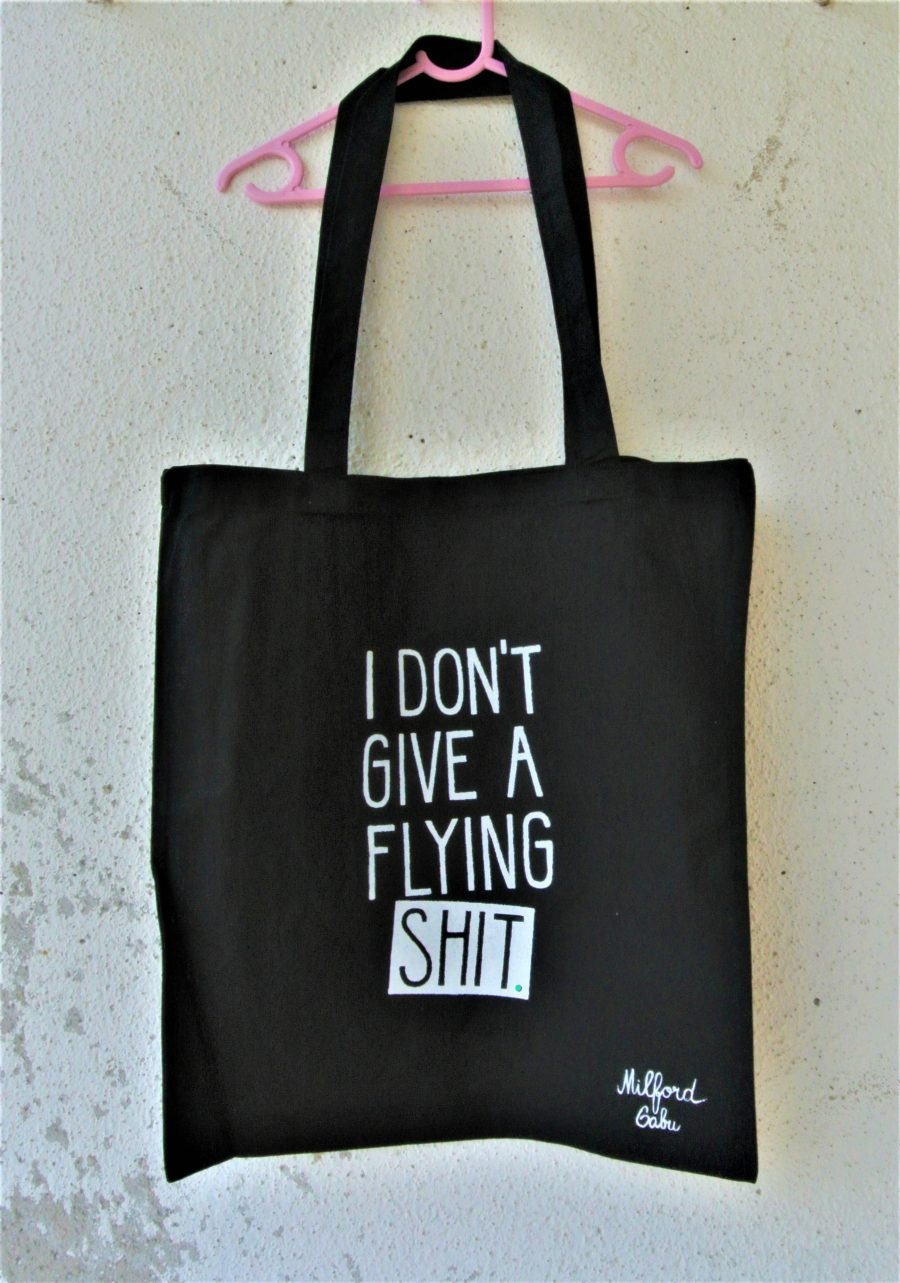 flying_shit_cotton_bag