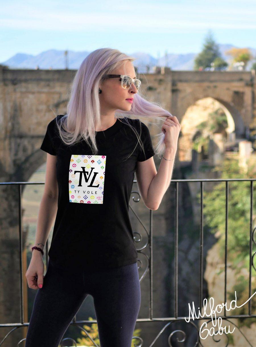 TVL_cerne damske triko