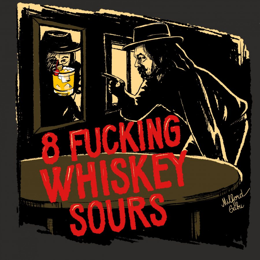 8 whiskey sours